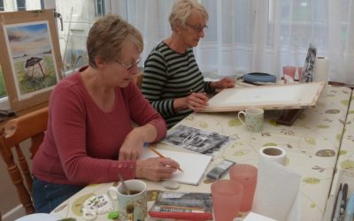 Watercolour Course – Thursday 9th January 2020 (Afternoon)