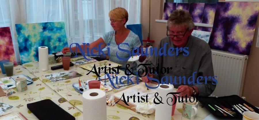 Watercolour Course – Tuesday 5th October 2021 (Morning)