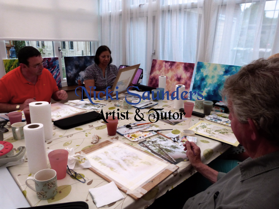 Watercolour Course – Tuesday 8th September 2020 (Afternoon)