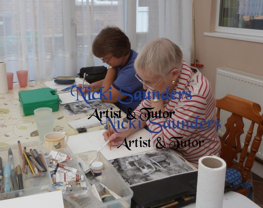 Watercolour Course – Monday 4th October 2021 (Afternoon)