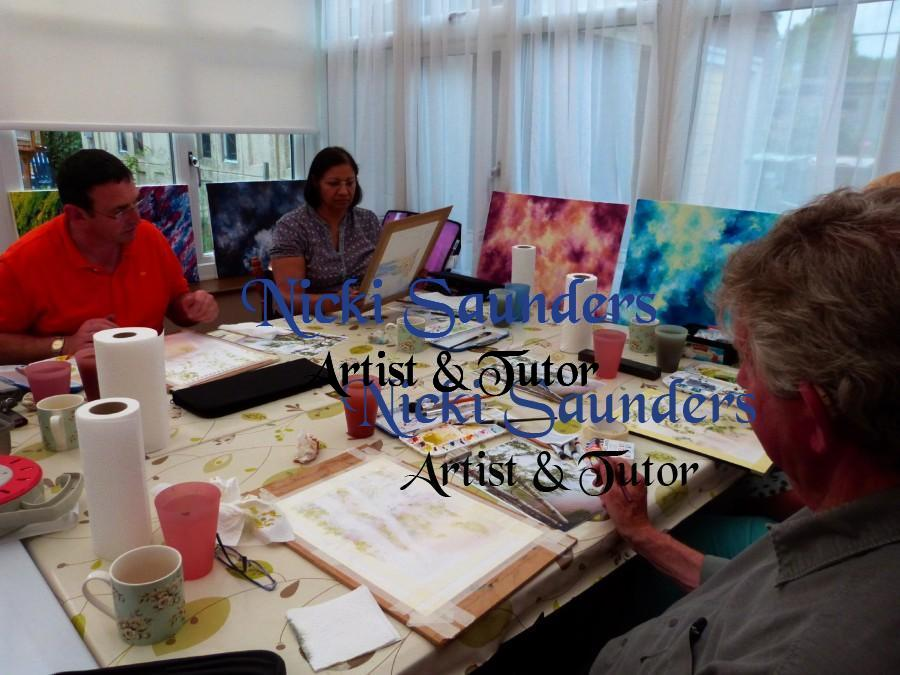 Watercolour Course – Wednesday 6th October 2021 (Afternoon)