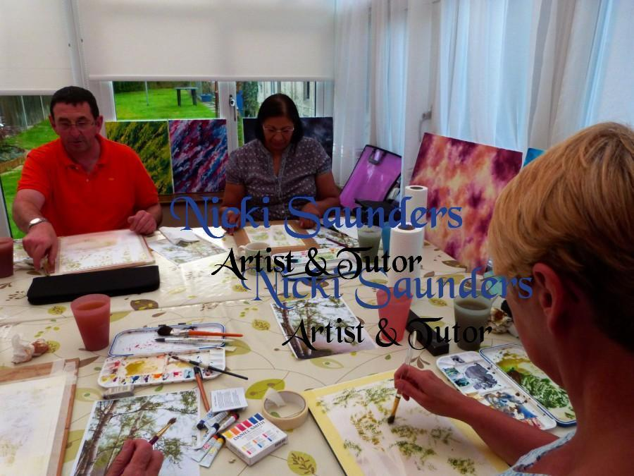 Watercolour Course – Wednesday 6th October 2021 (Evening)