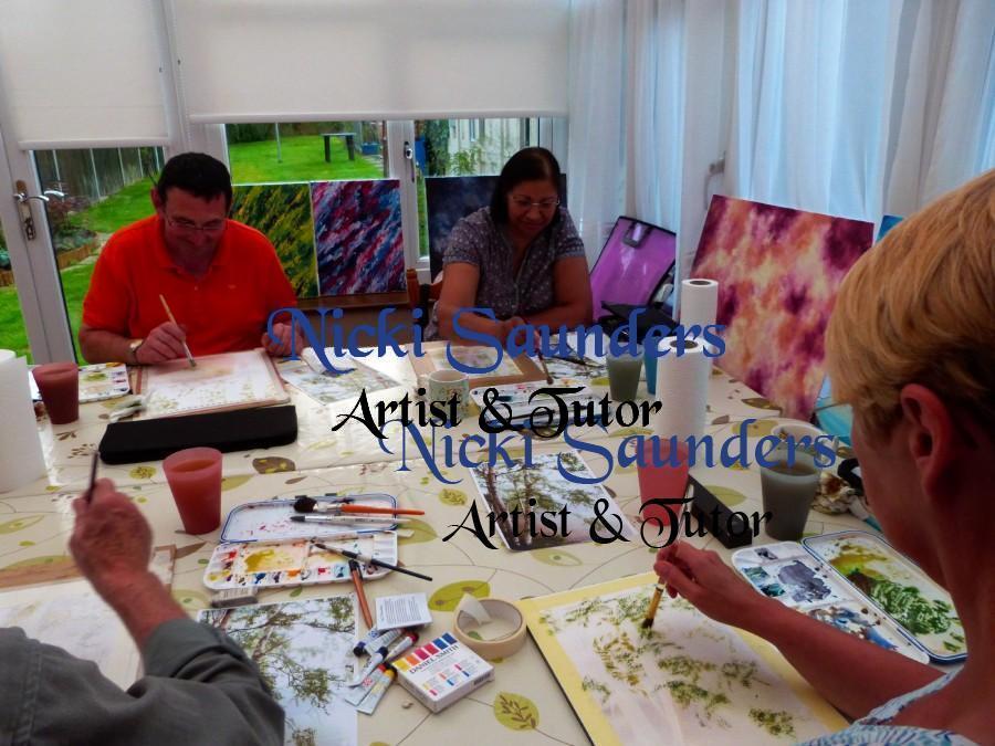 Watercolour Course – Thursday 10th September 2020 (Morning)