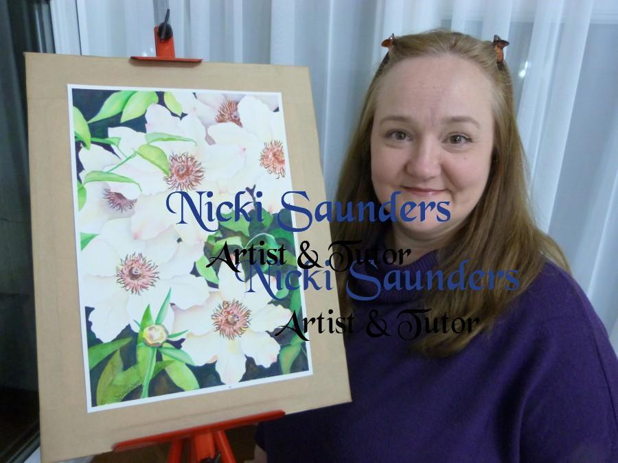 Nicki Saunders - Artist & Tutor
